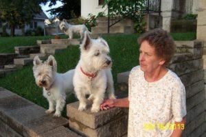 Dr Helen Globus patient Noreen Green's Terriers